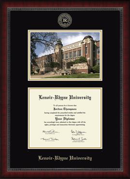 Campus Scene Edition Diploma Frame in Sutton