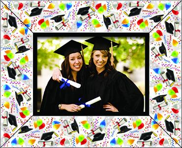 Grad Logo Photo Frame