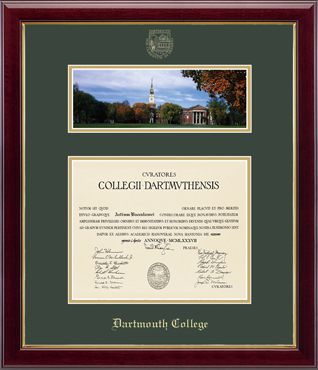 Campus Scene Edition Diploma Frame in Gallery