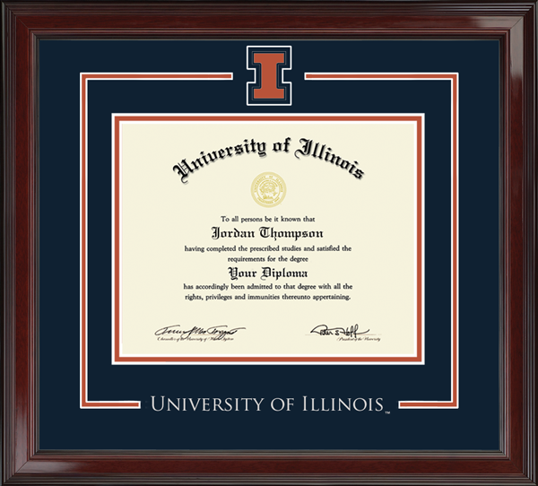 Spirit Medallion Diploma Frame in Encore