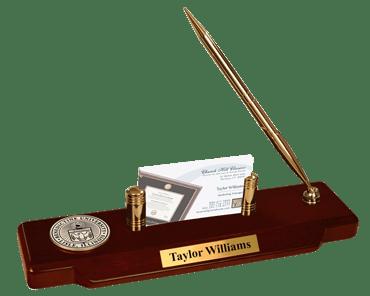Benedictine University Masterpiece Medallion Desk Pen Set