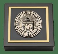 Benedictine University Masterpiece Medallion Paperweight