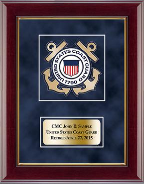 U.S. Coast Guard Masterpiece Medallion Award Frame in Gallery