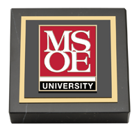 MSOE Masterpiece Medallion Paperweight