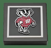 Spirit Badger Logo Medallion Paperweight