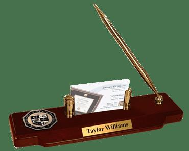 New Mexico Institute of Mining & Technology Masterpiece Medallion Desk Pen Set