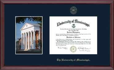 Campus Scene Diploma Frame in Camby