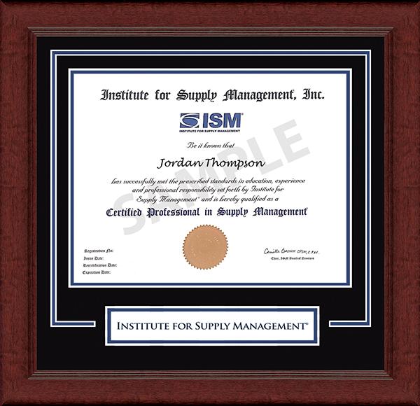 Lasting Memories Certificate Frame in Sierra