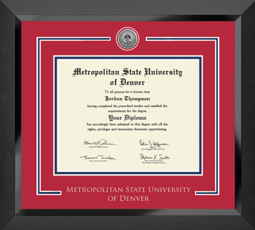 Showcase Edition Diploma Frame in Eclipse