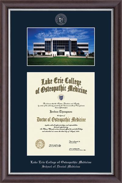 Erie Campus Scene Diploma Frame in Devonshire