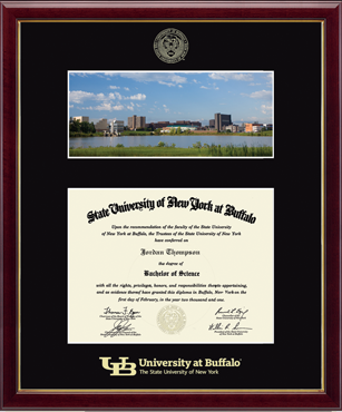 North Campus Scene Diploma Frame in Galleria