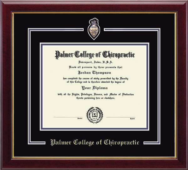 Spirit Medallion Diploma Frame in Gallery