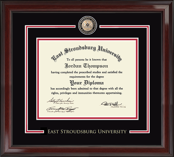 Showcase Edition Diploma Frame in Encore