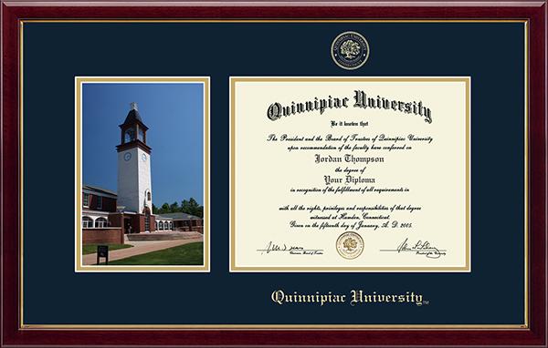 Campus Scene Diploma Frame in Gallery