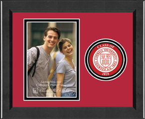 "Lasting Memories Circle Logo ""Class of 2018"" Photo Frame in Arena"