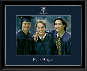 Kent School in Connecticut Embossed Photo Frame in Onexa Silver