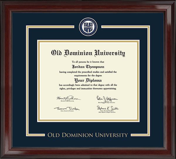 Showcase Edition Diploma Frame in Encore