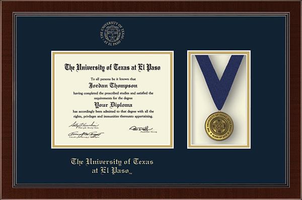 Medal Diploma Frame in Delta