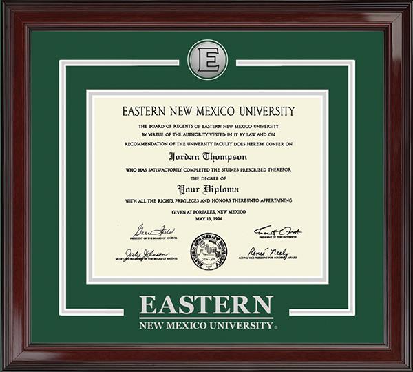 Eastern New Mexico University Diploma Frames Church Hill Classics