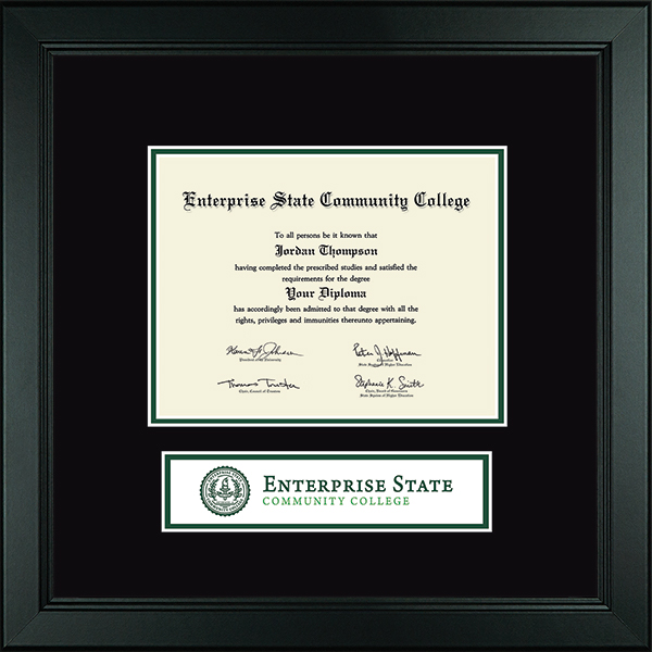 Lasting Memories Banner Diploma Frame in Arena