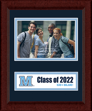 The University of Maine Orono Lasting Memories Class of 2022 Banner Photo Frame in Sierra