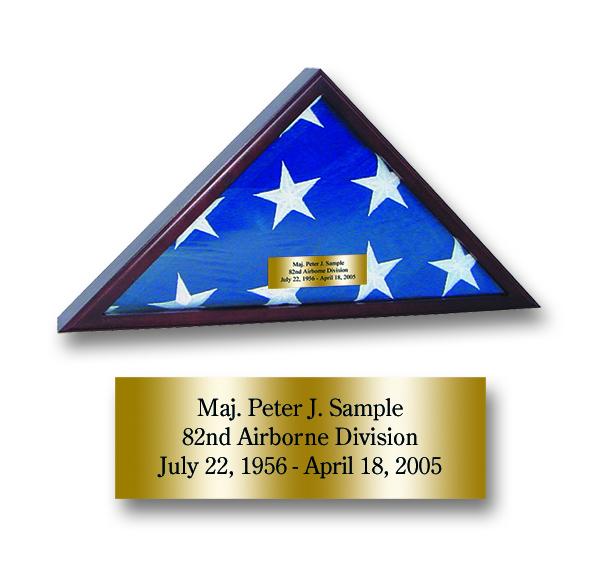 Presentation Flag Case - Holds a 3