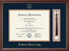 Auburn University Tassel Edition Diploma Frame in Newport