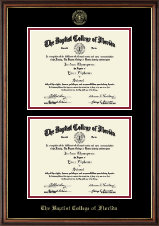 Double Diploma Frame in Williamsburg