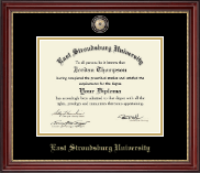 Masterpiece Diploma Frame in Kensington Gold
