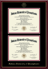 Double Diploma Frame in Galleria