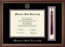 Missouri State University Tassel Edition Diploma Frame in Newport
