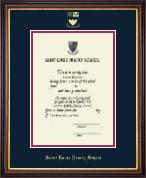 Embossed Diploma Frame in Lancaster
