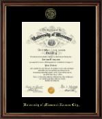 Gold Embossed Diploma Frame in Williamsburg