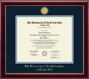 23K Medallion Diploma Frame in Gallery