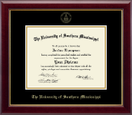 Gold Embossed Edition Diploma Frame in Gallery