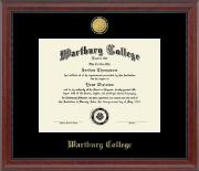 23K Medallion Diploma Frame in Signature