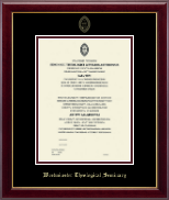 Gold Embossed Certificate Frame - Master
