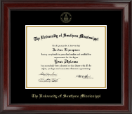 Gold Embossed Edition Diploma Frame in Encore