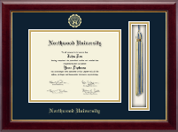 Tassel Edition Diploma Frame in Gallery