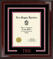 Greek Letters Certificate Frame in Encore