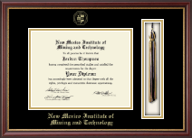 New Mexico Institute of Mining & Technology Tassel Diploma Frame in Newport