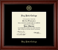 Gold Embossed Diploma Frame in Cambridge