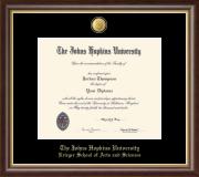 23K Medallion Diploma Frame in Hampshire