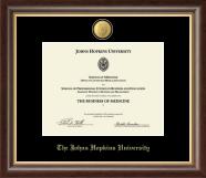 23K Medallion Certificate Frame in Hampshire