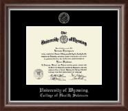 Silver Embossed Diploma Frame in Devonshire