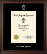 Embossed Certificate Frame in Studio
