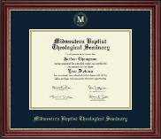 Gold Embossed Diploma Frame in Kensington Gold