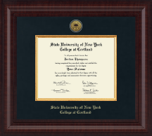 Presidential Gold Engraved Diploma Frame in Premier