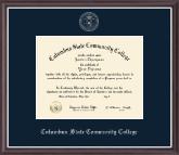 Silver Embossed Diploma Frame in Devon