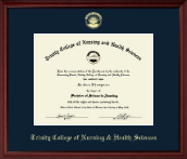 Gold Embossed Edition Diploma Frame in Camby